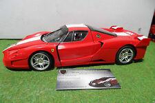 FERRARI FXX rouge à l'échelle 1/18 HOT WHEELS ELITE voiture miniature collection