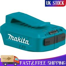 Makita 18-V Li-Ion USB Port Adapter Charger Belt Clip Mobile Phone Tablet Blue
