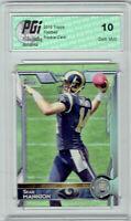 Sean Mannion 2015 Topps Football #499 Los Angeles Rams Rookie Card PGI 10