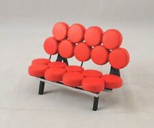 Chair - Marshmallow Sofa Miller classic miniature S8015 1/12 scale (25mm=305mm)