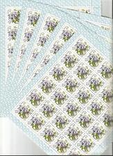 URSS 1981...5 Feuilles n° 4805 ★★...Fleurs... Coté 105€
