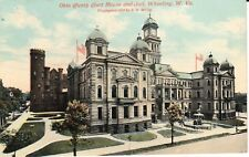 Early 1900's Ohio County Court House & Jail in Wheeling, WV West Virginia PC