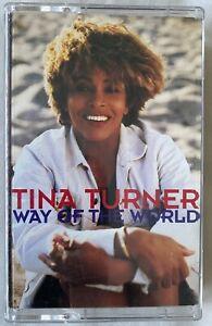 TINA TURNER - WAY OF THE WORLD (UK CASSETTE TAPE SINGLE)