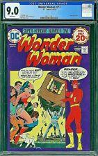 WONDER WOMAN 213 CGC 9.0 Blaisdell Oksner Flash 1974