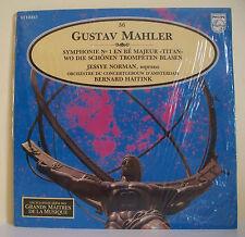 """33T G MAHLER Disque LP 12"""" SYMPHONIE Jessye NORMAN B HAITINK MUSIQUE ALPHA N° 56"""