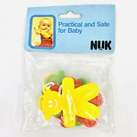 Vintage Retro NUK Baby Toy Grip and Learn Made in Germany