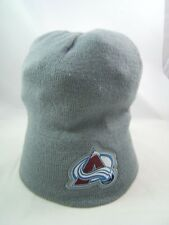 Colorado Avalanche NHL Hockey Coors Winter Hat Gray Toque Beanie Stocking Cap