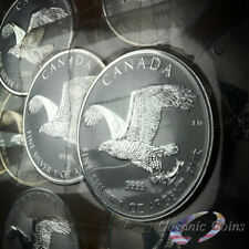 2017 Mint Sealed 1 oz Canadian Silver Bald Eagle Reverse Proof Coin