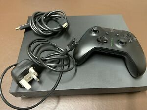 Xbox One X Project Scorpio Edition 1TB Console With Controller And Cables.