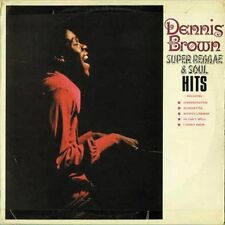 Dennis Brown Super Reggae and Soul Hits CD 19 Track Remastered With Bonus Tracks