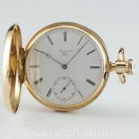 Patek Philippe Geneve Taschenuhr Anker-chronometer seltener Werk Dekoration 1875