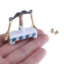 1:12 escala dollhouse miniatura balanza para decoración de casa de muñecas