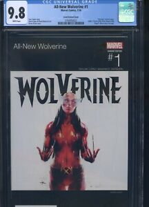 All-New Wolverine #1 CGC 9.8 Hip Hop Variant Cover