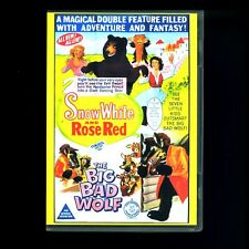 SNOW WHITE & ROSE RED BIG BAD WOLF CHILDHOOD PRODUCTIONS COSTUME FAIRY TALE DVD!