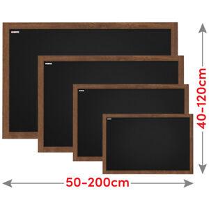 Kreidetafel Holzrahmen Schwarz Schreibtafel  Blackboard Kreide Wandtafel Bar