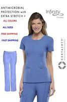 Cherokee Infinity Scrubs SETS(TOP: 2624A / PANT: 1123A)FREE SHIPPING! All Colors