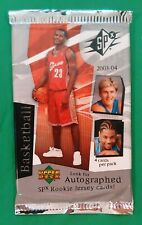 2003-04 SPX Basketball 2 Pack Lot Lebron James RC Rookie