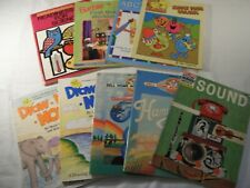 Vintage Learning Educational Activity Puzzle Workbooks Various Themes 9 book lot