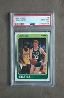 1988 Fleer Basketball Larry Bird Card #9 Celtics HOF PSA Graded 10 Gem Mint