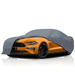 Ford Mustang Fastback 1971 1972 1973 4 Layer Waterproof Car Cover