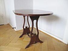 alter SPIELTISCH - Klapptisch - Beistelltisch - Harfe - old harp side table