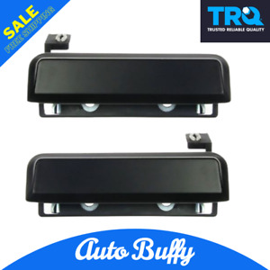 TRQ Outside Exterior Door Handle & Pair Set of 2 Fits Ford Mercury