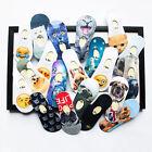 Damen Lustige Socken Sneaker Halbsocken Strümpfe Sportsocken Tier Hund gedruckt