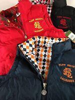 Flow Society Puffer Vest Jacket Youth Boys RUNS BIG Lined Coat Sleeveless NEW