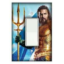 Aquaman Decorative Rocker / Decora Light Switch Cover - Switch Plate