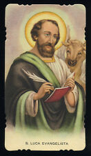 santino vecchio-holy card ediz. EGIM n.89 S.LUCA EV.