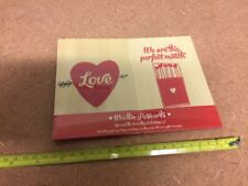 New With Tags Professor Puzzle Pair Of 2 Wooden Postcards Valentine's $15