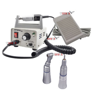 Dental Lab Electric Micromotor Motor Contra Angle Slow Speed Handpiece Strong 90