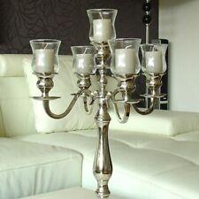 5 x Glasaufsatz für Kerzenleuchter Kerzenständer Teelichthalter Partylicht