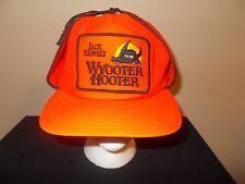 VTG-1980s Jack Daniels Wyooter Hooter Orange Deer Hunting Elmer Fudd hat sku7