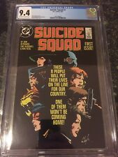 Suicide Squad #1 (May 1987, DC) CGC 9.4 Free Shipping Harley Quinn