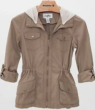BKE The Buckle Daytrip Canvas Jacket With Detachable Hood Small Sold Out