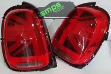 Mini RED LED Union Jack Rear tail Lights F56 Cooper S, JCW *ERROR FREE* 2014+