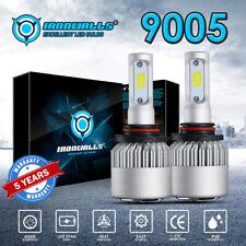 IRONWALLS 2x 9005 HB3 LED Headlight Kit 9140 9145 6000K 300000LM 2000W Bulbs S2