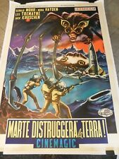 """THE ANGRY RED PLANET Original Movie Poster, 55""""x77.5"""", C8.5 Very Fine/Near Mint"""