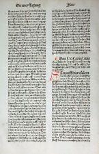 9. alemana Biblia Biblia germanica inkunabel adivinación profeta isaias 1483
