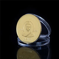 1PC Gold-plated Coin Nepal Buddha Commemorative Coin Collection BH