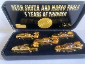 Matco Dean Skuza Matco Tools 5 Years of Thunder 24k Gold Plated Funny Car Set