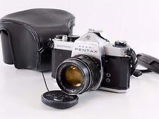 Asahi PENTAX Spotmatic SP 35mm SLR Camera Super Takumar 55mm f:2 Lens & Case