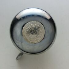 Bicycle bell Loco chromed silver bring bring sound for vintage bicycle