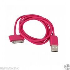 Rose Red 3ft 30 pin to USB Sync Data Charger Cable for iPad1 iPad2 iPad3 iPhone4