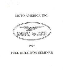 1997 Moto Guzzi fuel injection training manual books