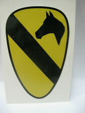 1 ST. CAVALRY DIVISION DECAL STICKER  ARMY