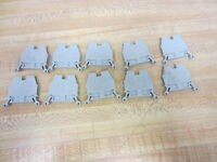 Allen Bradley 1492-W3 Terminal Blocks 1492W3 Grey (Pack of 10)