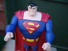 """DC Comics Superman Action Figure 10"""" Tall Jointed Loose Very Good Condition"""