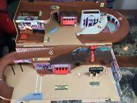 Vintage Mattel 1979 Hot Wheels CITY Play Set Plastic - Not Complete